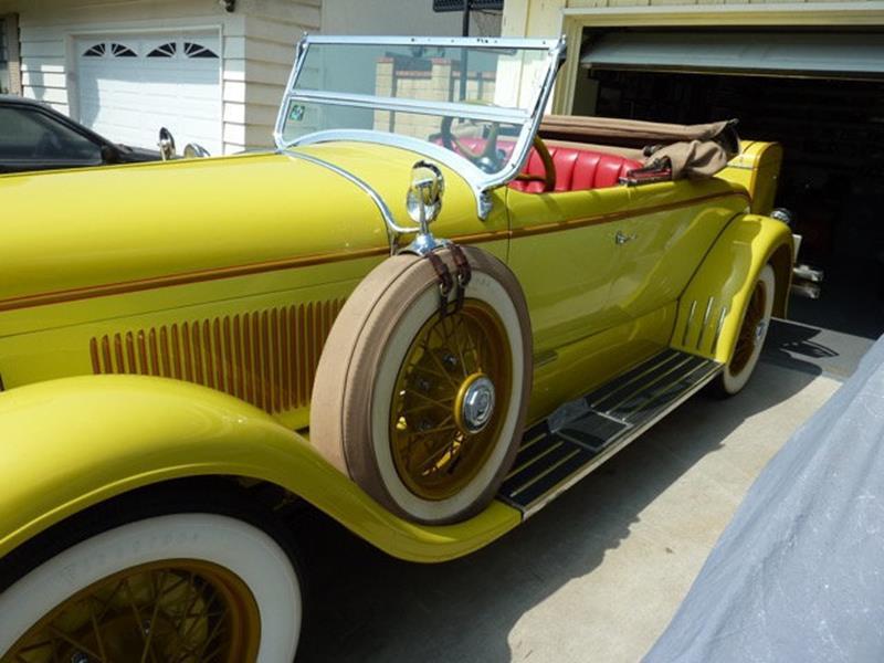1929 Lincoln Model L 5