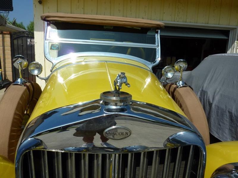 1929 Lincoln Model L 12