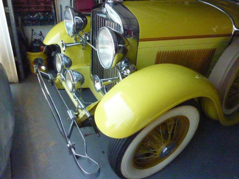 1929 Lincoln Model L 16