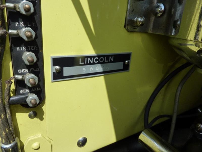 1929 Lincoln Model L 38