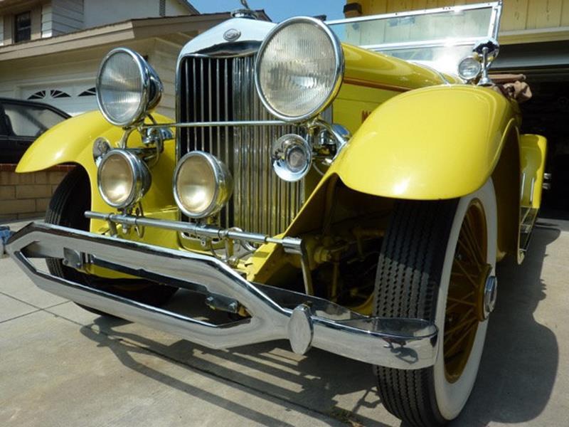 1929 Lincoln Model L 8