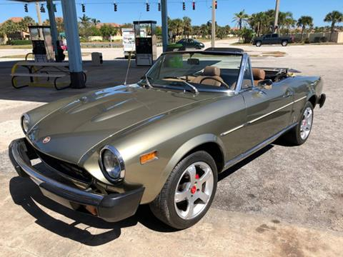 1976 fiat 124 spider for sale. Black Bedroom Furniture Sets. Home Design Ideas