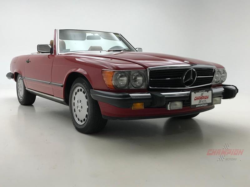 1987 Mercedes-Benz 560-Class 12