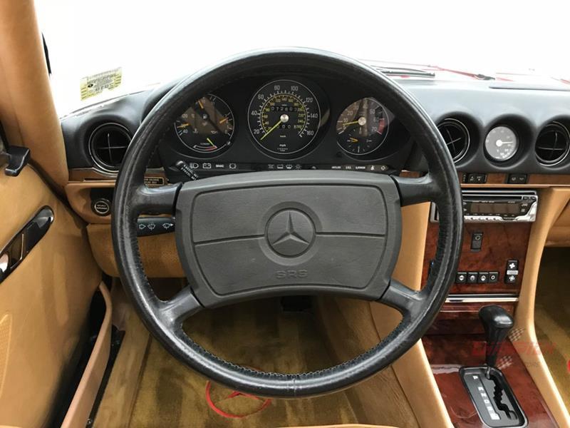 1987 Mercedes-Benz 560-Class 21