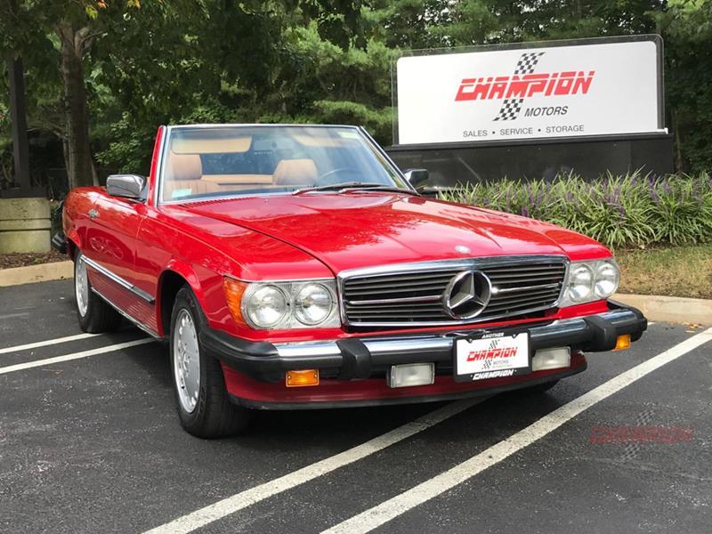 1987 Mercedes-Benz 560-Class 2