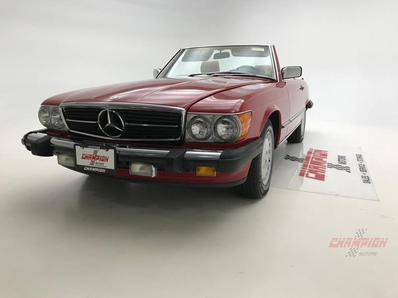 1987 Mercedes-Benz 560-Class 10