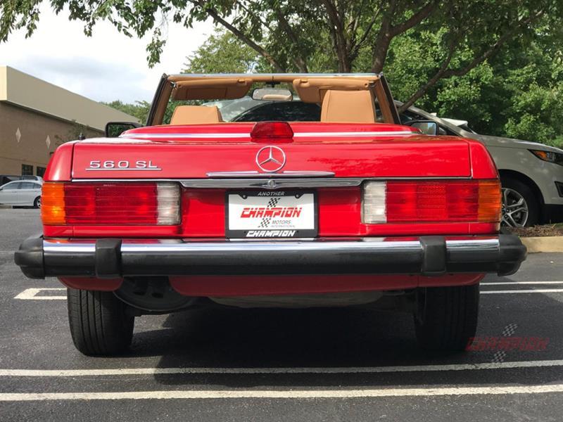 1987 Mercedes-Benz 560-Class 7