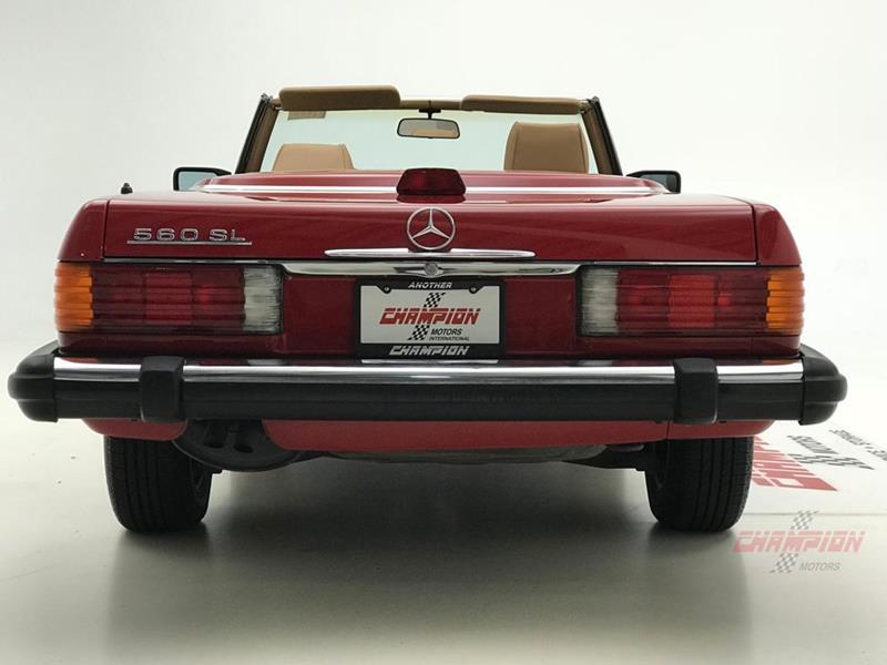 1987 Mercedes-Benz 560-Class 16