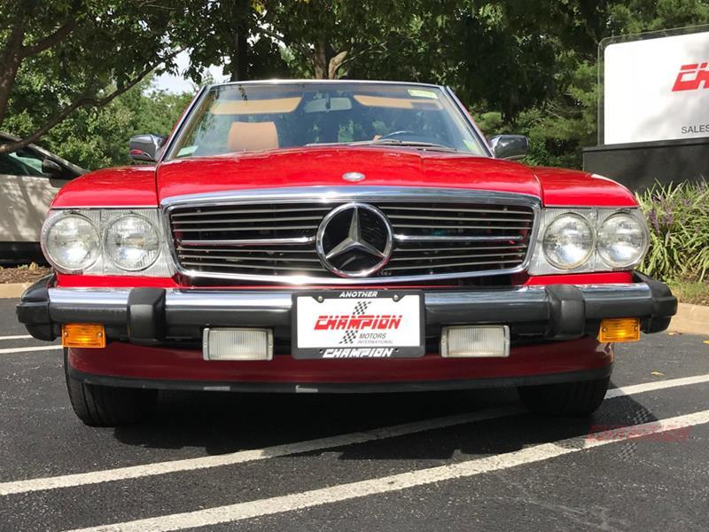 1987 Mercedes-Benz 560-Class 3