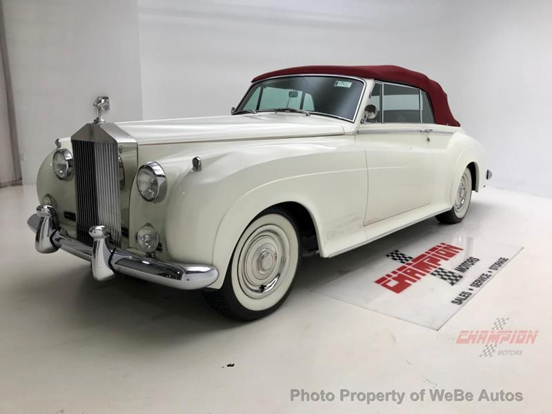 1961 Rolls-Royce Silver Cloud 3 46