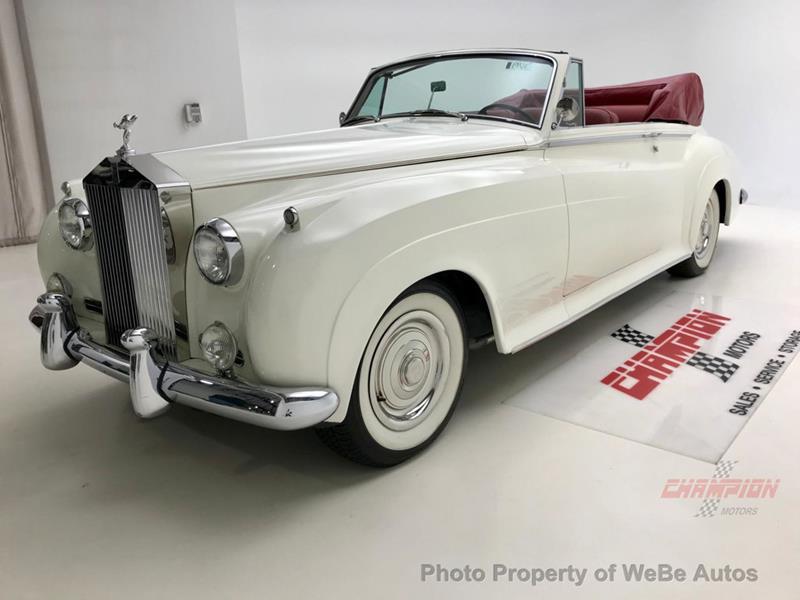 1961 Rolls-Royce Silver Cloud 3 9