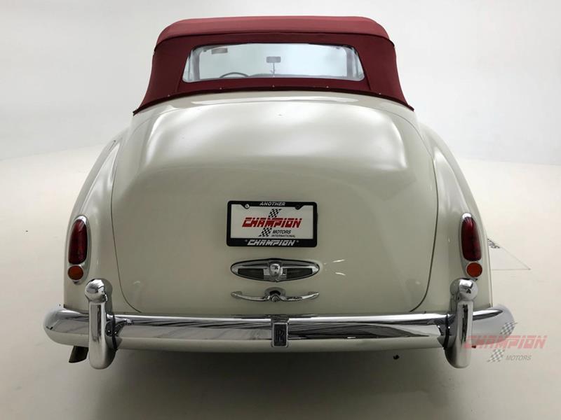 1961 Rolls-Royce Silver Cloud 3 42