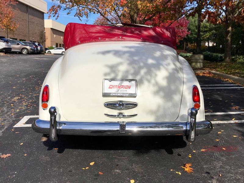 1961 Rolls-Royce Silver Cloud 3 7