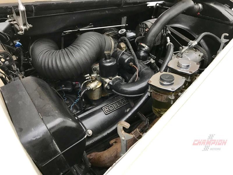 1961 Rolls-Royce Silver Cloud 3 37