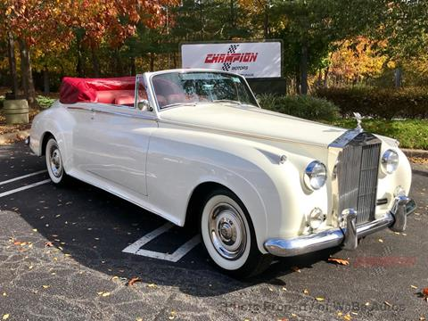 1961 Rolls-Royce Silver Cloud 3 for sale in Calverton, NY