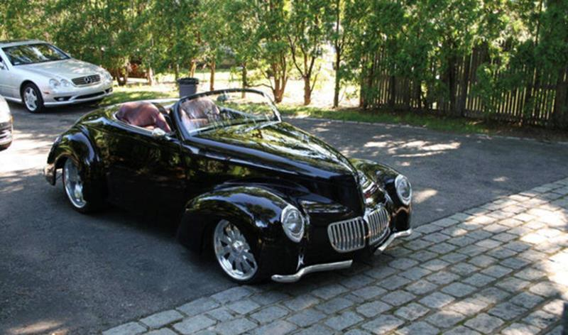 1940 Willys Swoopster Roadster/Coupe 9