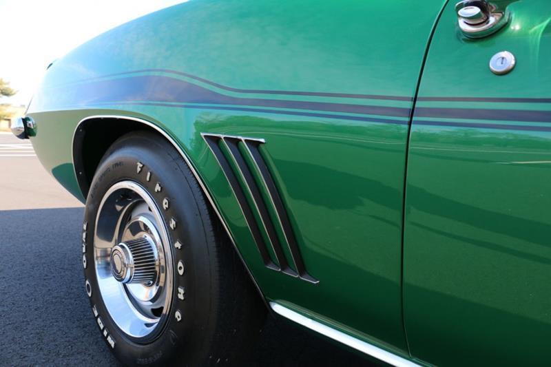 1969 Chevrolet Camaro 25