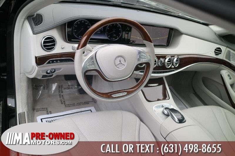 2015 Mercedes-Benz S-Class 12