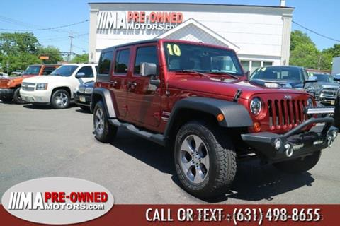 2010 Jeep Wrangler Unlimited for sale in Calverton, NY