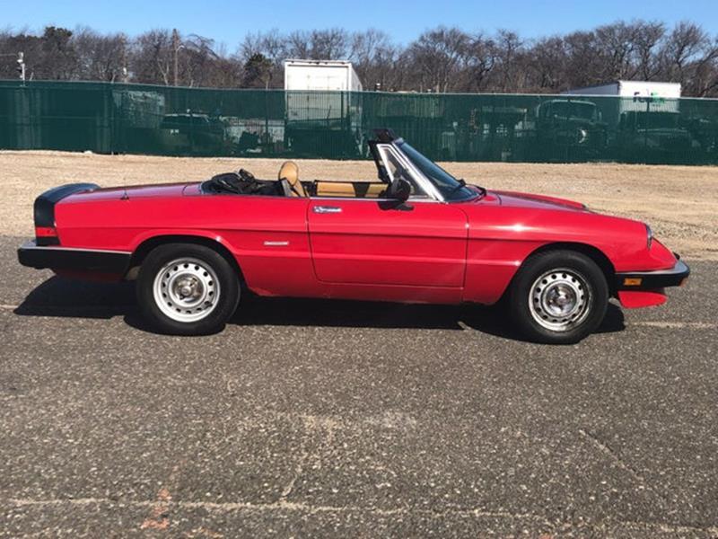 1987 Alfa Romeo Spider 9