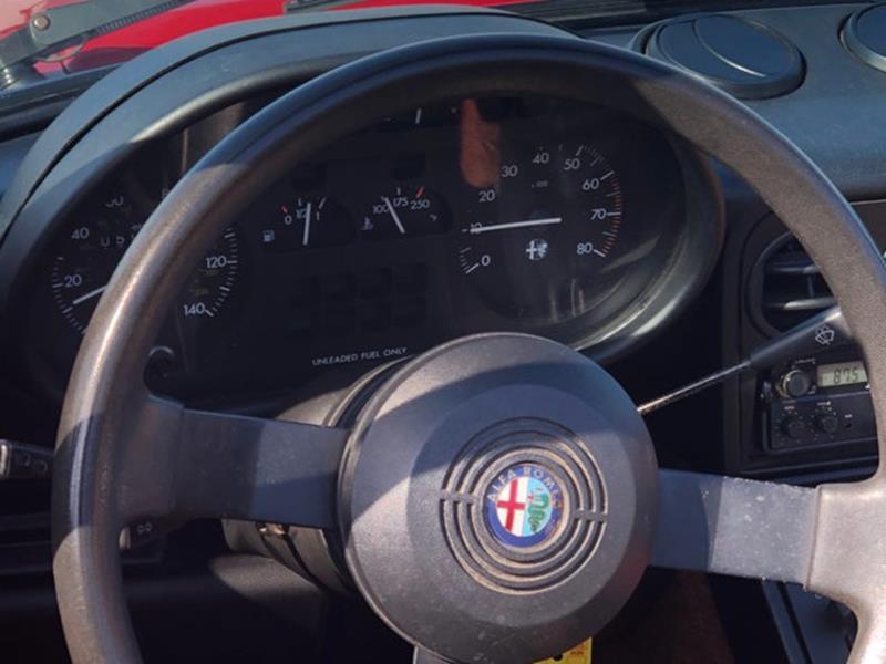 1987 Alfa Romeo Spider 44