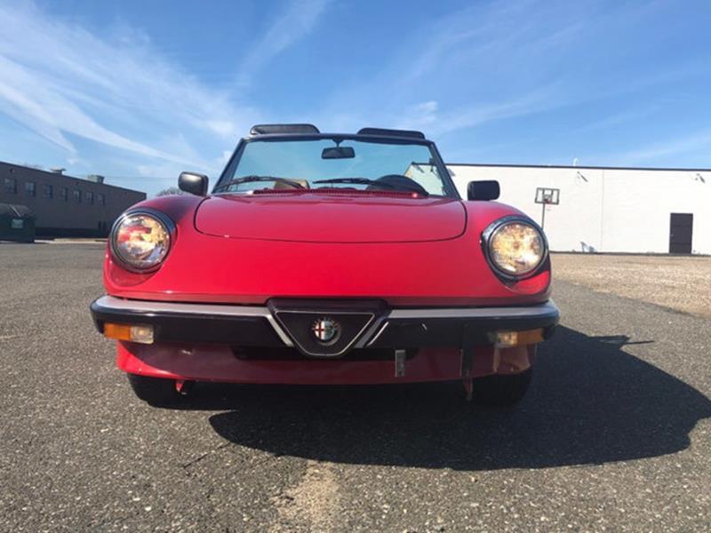 1987 Alfa Romeo Spider 6