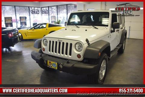 2011 Jeep Wrangler Unlimited for sale in Calverton, NY