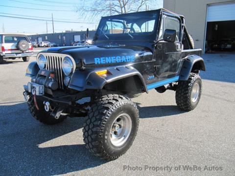 1984 Jeep CJ-7 for sale in Calverton, NY