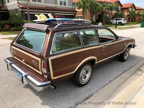Used Ford Pinto For Sale In Wilmington Nc Carsforsalecom