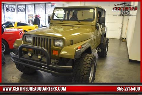 1993 Jeep Wrangler for sale in Calverton, NY
