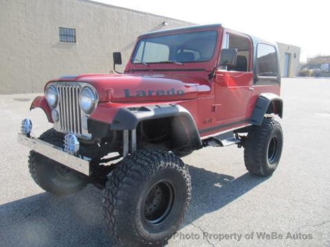 1986 Jeep CJ-7 for sale in Calverton, NY