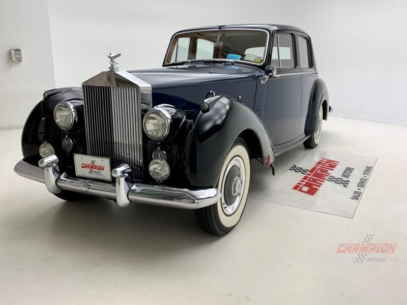 1953 Rolls-Royce Silver Dawn 3