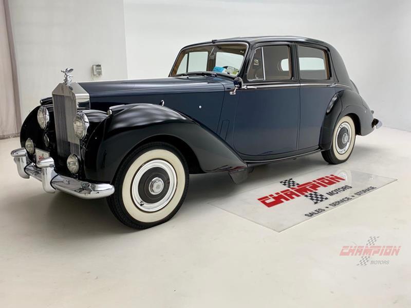1953 Rolls-Royce Silver Dawn 2