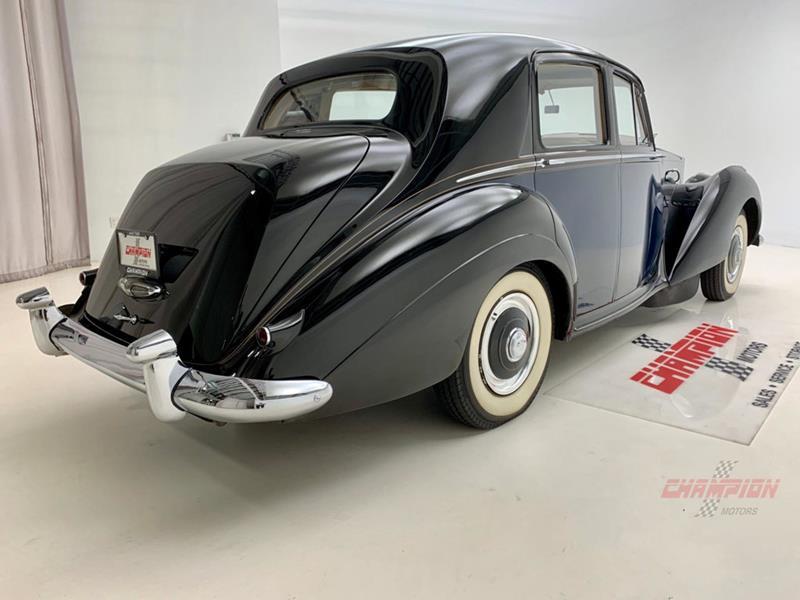 1953 Rolls-Royce Silver Dawn 9