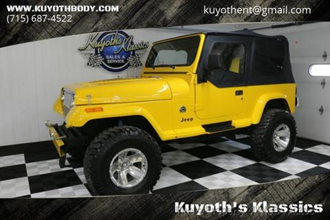 Used 1990 Jeep Wrangler For Sale Carsforsalecom