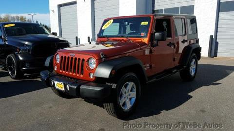 2014 Jeep Wrangler Unlimited for sale in Calverton, NY