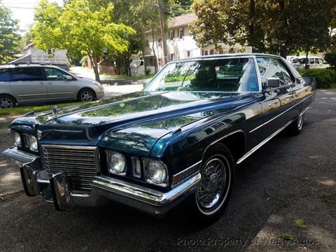 1972 Cadillac DeVille for sale in Calverton, NY
