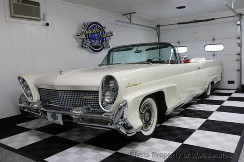 1958 Lincoln Continental 13