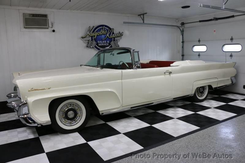 1958 Lincoln Continental 12