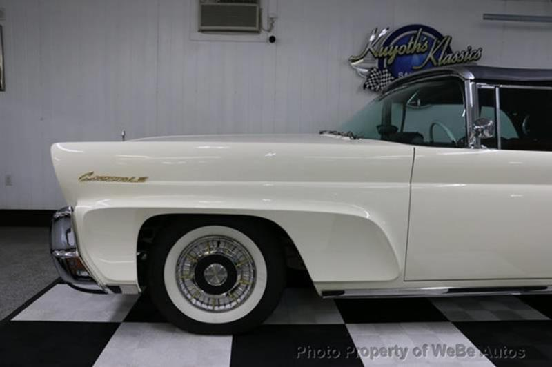 1958 Lincoln Continental 7