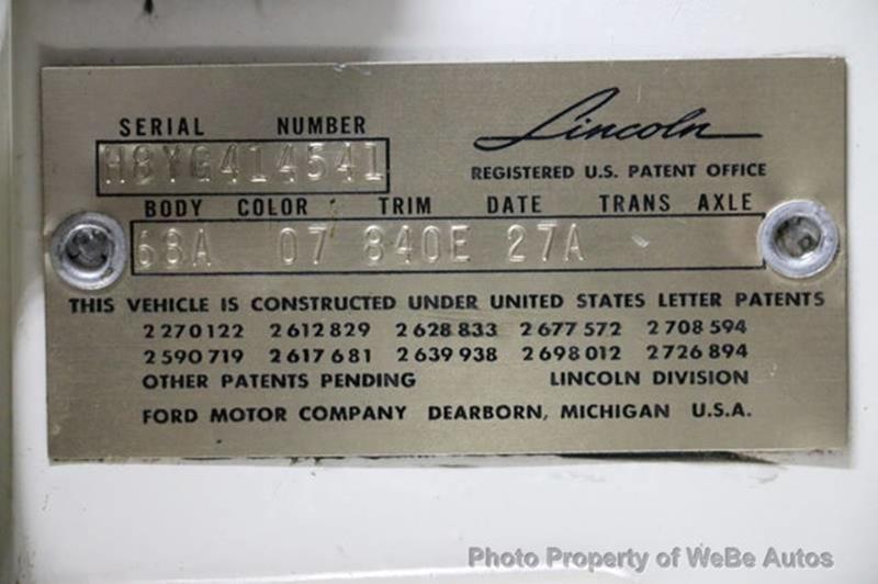 1958 Lincoln Continental 33