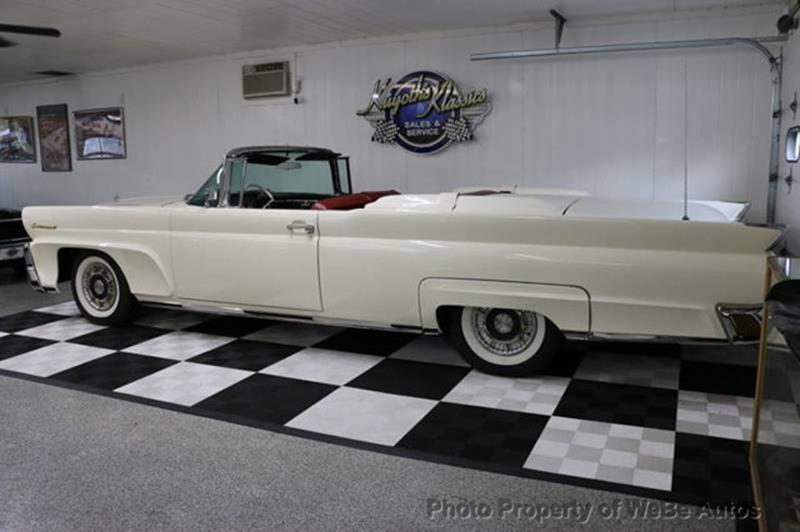 1958 Lincoln Continental 15