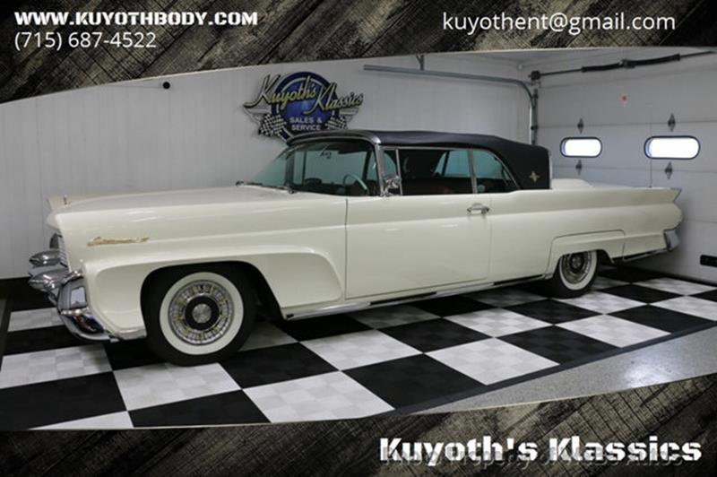1958 Lincoln Continental 1