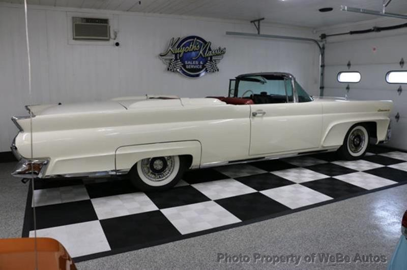 1958 Lincoln Continental 52