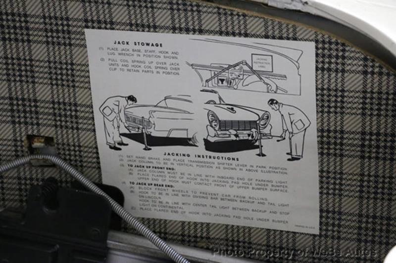 1958 Lincoln Continental 76