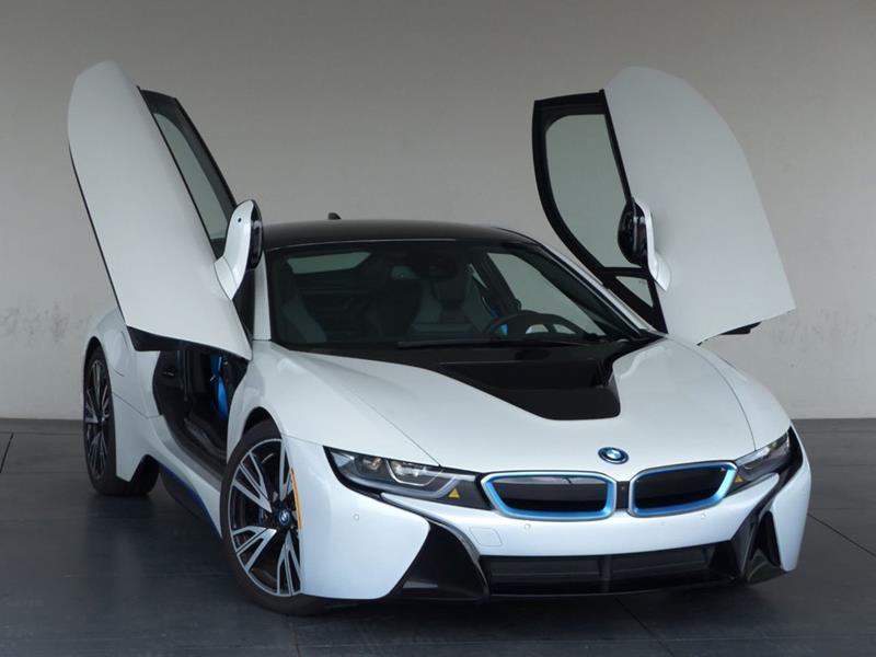 2016 BMW i8 8