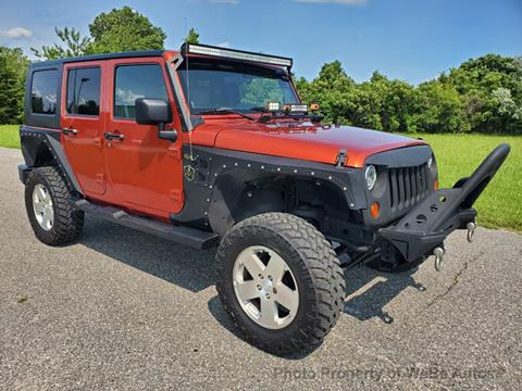2009 Jeep Wrangler Unlimited for sale in Calverton, NY