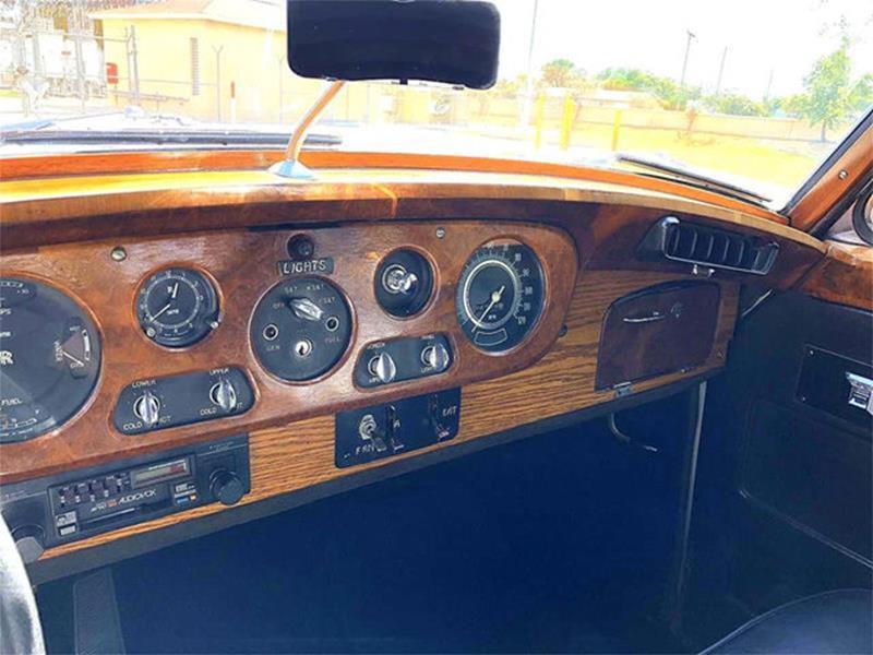 1961 Rolls-Royce SILVER CLOUD II LIMOUSINE 14