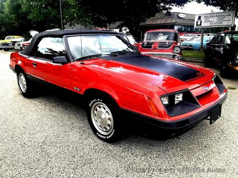 1986 Ford Mustang for sale in Calverton, NY