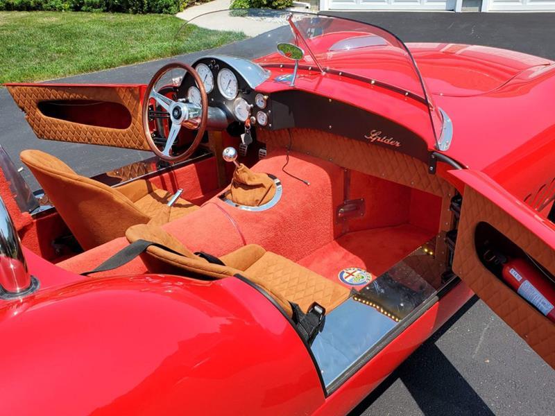 1966 Alfa Romeo Spider 57